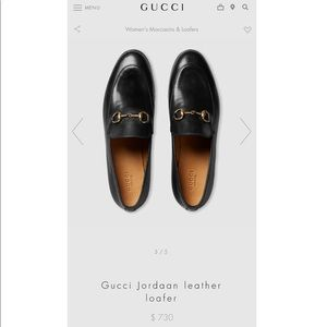 stylish Gucci Joardaan Leather Loafers